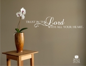 Trust in the Lord - Wall Decals
