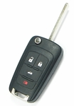 2013 Chevrolet Malibu Keyless Entry Remote Key