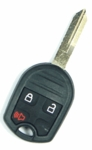 2015 Ford Edge Keyless Entry Remote / key - 3 button