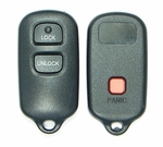 3 Button Toyota RAV4, Highlander, Prius, FJ, Tundra Remote Replacement Case Shell