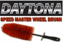 Daytona Speed Master Wheel Brushes
