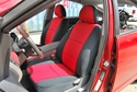 FRONT SEATS: Genuine Neoprene Seat Covers