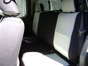 REAR SEATS: Genuine Neoprene Seat Covers