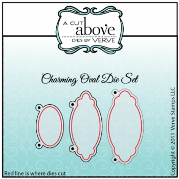 Charming Oval Die Set