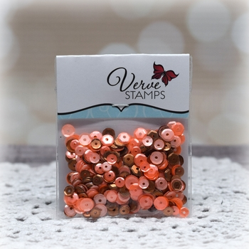 Copper Blush Sequin Mix