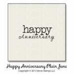 Happy Anniversary Plain Jane
