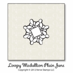 Loopy Medallion Plain Jane