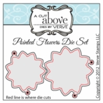 Pointed Flowers Die Set