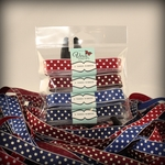 Red White and Beautiful Ribbon Collection