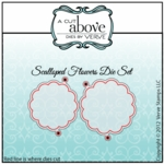 Scalloped Flowers Die Set