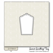 Sweet Scallop Tag  (stamp)