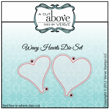 Wavy Hearts Die Set