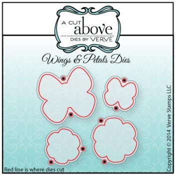 Wings & Petals Die Set