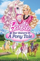 arabic cartoon dvd for kids barbie and her sister in a pony tale          باربى