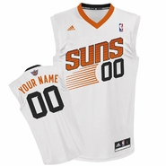 Phoenix Suns adidas Revolution Custom Player Replica Home Jersey - White<br><b><i>Choose a player or Personalize your jersey!</i></b>