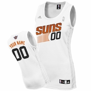 Phoenix Suns adidas Revolution Women's Custom Player Replica Home Jersey - White<br><b><i>Choose a player or Personalize your jersey!</i></b>