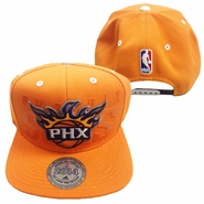 Phoenix Suns 2014 adidas Snapback Draft Cap - Orange