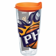 Phoenix Suns 24oz Wrap Tumbler With Lid