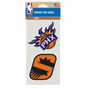 Phoenix Suns 4x4 Die Cut Decal