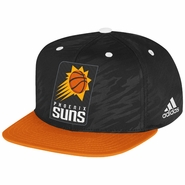 Phoenix Suns adidas 2013-2014 Authentic On-Court Snapback Cap - Black/Orange
