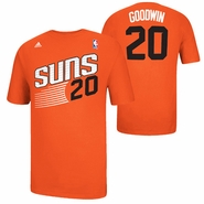 Phoenix Suns adidas Archie Goodwin #20 Game Time Name & Number Tee - Orange