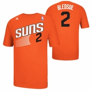 Phoenix Suns adidas Eric Bledsoe #2 Game Time Name & Number Tee - Orange