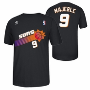 Phoenix Suns adidas Gametime Dan Majerle #9 Throwback Retro Tee - Black