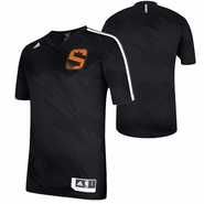 Phoenix Suns adidas Gametime Short Sleeve Shooting Shirt - Black