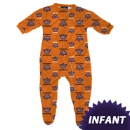 Phoenix Suns adidas Infant All-Over Print Coverall - Orange