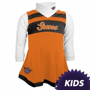 Phoenix Suns adidas Kids Girls Cheerleader Jumper Dress - Orange