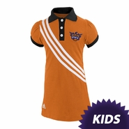 Phoenix Suns adidas Kids Girls Polo Dress - Orange