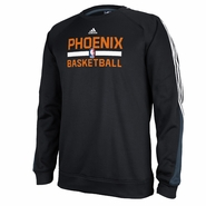 Phoenix Suns adidas Men's Long Sleeve Practice Crew Tee - Black
