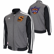 Phoenix Suns adidas On-Court Second Half Jacket - Grey