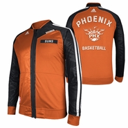 Phoenix Suns adidas On-Court Warm Up Jacket - Orange