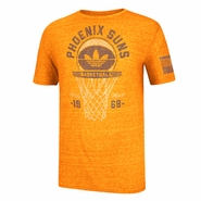 Phoenix Suns adidas Originals Classic Net Triblend Tee - Orange