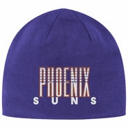 Phoenix Suns adidas Originals Trefoil Knit Skully - Purple