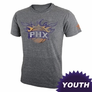 Phoenix Suns adidas Originals Youth Big Better Logo Triblend Tee - Grey