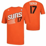 Phoenix Suns adidas P.J. Tucker #17 Game Time Name & Number Tee - Orange