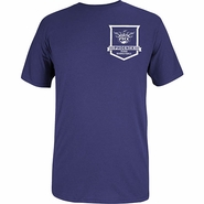Phoenix Suns Adidas Pocket Shield Tee-Purple