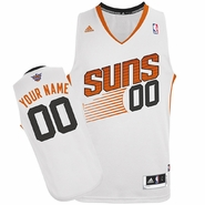 Phoenix Suns adidas Revolution Custom Player Swingman Home Jersey - White<br><b><i>Choose a player or Personalize your jersey!</i></b>