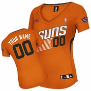 Phoenix Suns adidas Revolution Women's Custom Player Replica Alternate Jersey - Orange<br><b><i>Choose a player or Personalize your jersey!</i></b>