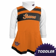 Phoenix Suns adidas Toddler Girls Cheerleader Jumper Dress - Orange