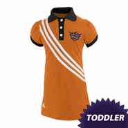 Phoenix Suns adidas Toddler Girls Polo Dress - Orange