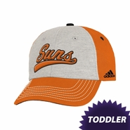 Phoenix Suns adidas Toddler Structured Adjustable Cap - Orange/White