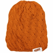 Phoenix Suns adidas Women's Long Knit Beanie - Orange