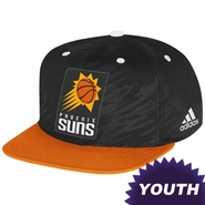 Phoenix Suns adidas Youth 2013-2014 Authentic On-Court Snapback Cap - Black/Orange