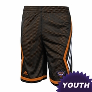 Phoenix Suns adidas Youth 3-Stripe Basketball Shorts - Black