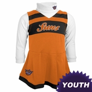 Phoenix Suns adidas Youth Girls Cheerleader Jumper - Orange/White