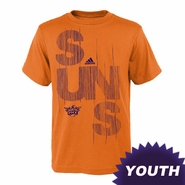 Phoenix Suns adidas Youth Written Out Tee - Orange