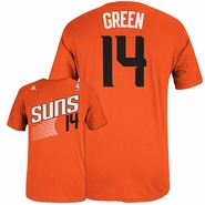 Phoenix Suns Gerald Green Adidas Name  Number Tee - Orange